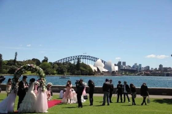 Casamento em Sydney, Australia