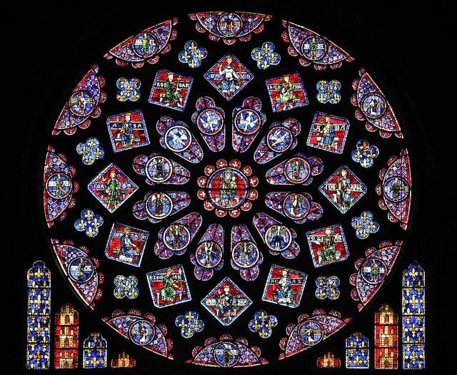 Catedral de Chartres Rosa Norte