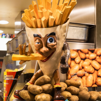 Batata frita na Bélgica