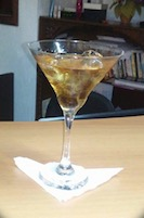 Manhattan drink de Nova York
