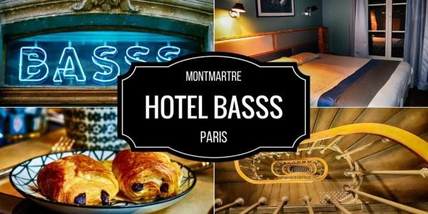 Hotel em Paris na região de Montmartre