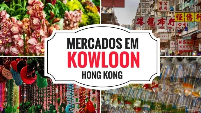 Mercados em Kowloon