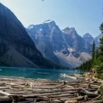 Lake Moraine no Canadá