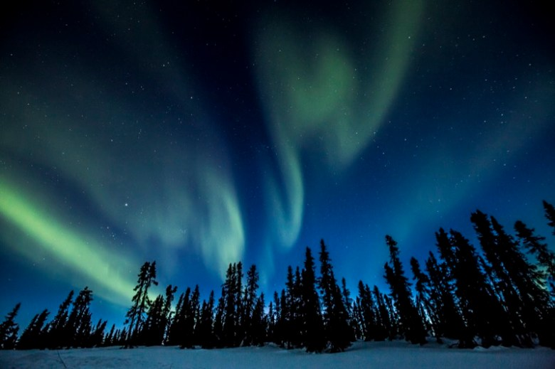 Resultado de imagem para aurora boreal Baía de Hudson