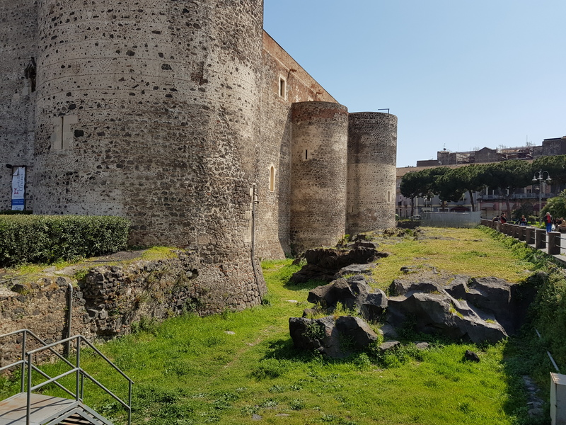 Atrações de Catânia Castello Ursino1