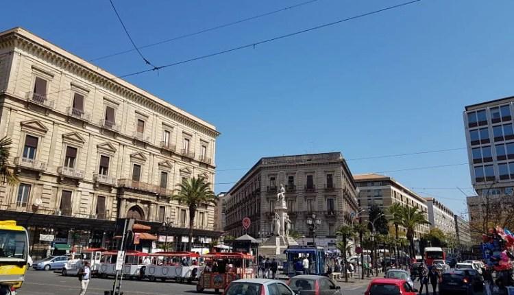 Atrações de Catânia Piazza Stesicoro