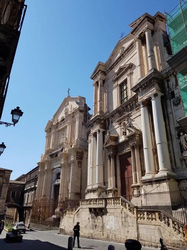 Atrações de Catânia Via Crociferi Chiesa di San Francesco Borgia