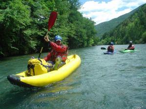 Kayak pirineos