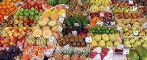 fruta y vitaminas