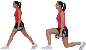 Lunges para chicas