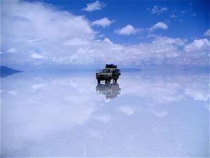 El desierto de Uyuni en Bolivia