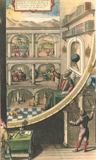 Inside Underground Observatory Tycho Brahe