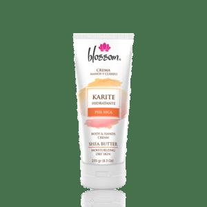 BLOSSOM KARITE Hidratante - Crema para manos y cuerpo piel seca 8.3 Oz
