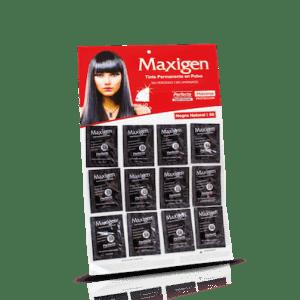 Maxigen Tinte Permanente en Polvo Sin Peróxido Negro Natural 58