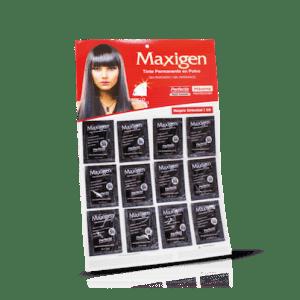 Maxigen Tinte Permanente en Polvo Sin Peróxido Negro Oriental 59