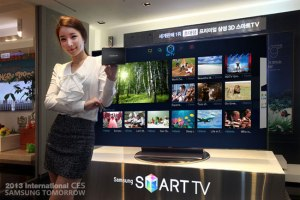 Paixão da Samsung por TV