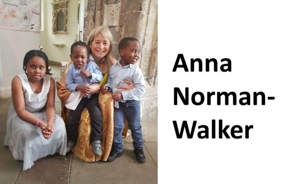 Anna N Walker with kids