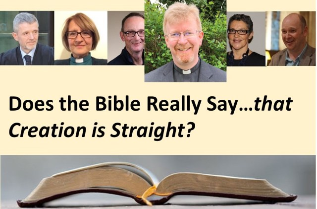 Does the Bible - Creation is Straight