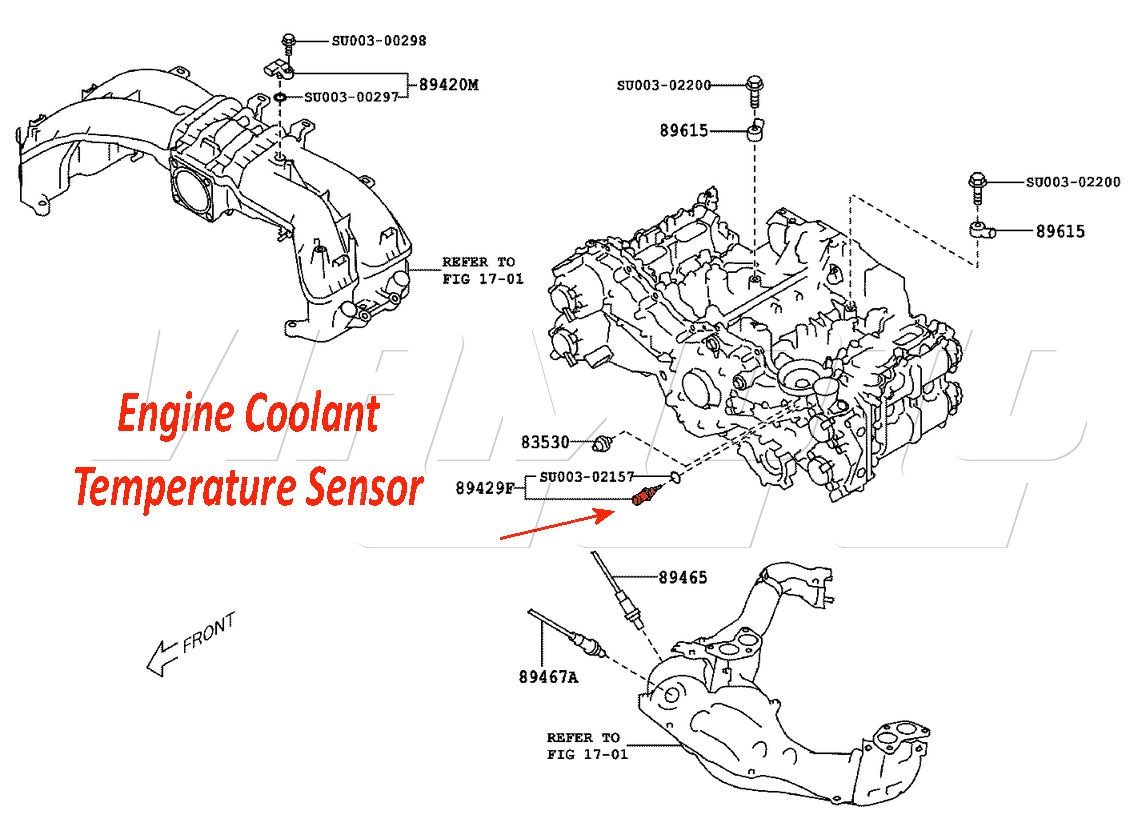 Dt466 Coolant Temp Sensor Location