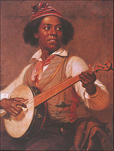 The Banjo Player, by William Sydney Mount (1856)