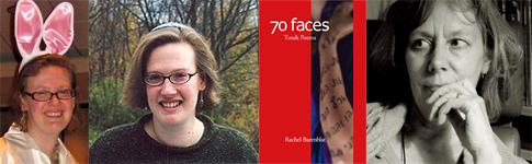 Rachel Barenblat, Torah Poems cover, and Beth Adams