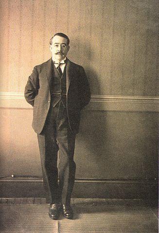 Leopoldo Lugones - photo by Eduardo Vargas Machuca