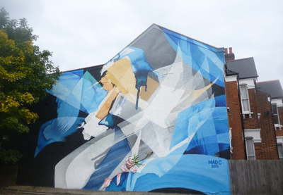 MadC's Dulwich mural