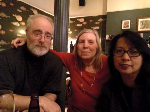 Three Via Negativa bloggers in a London pub, 14 December 2015
