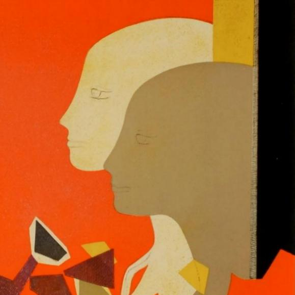 Detail from a lithograph by André Minaux