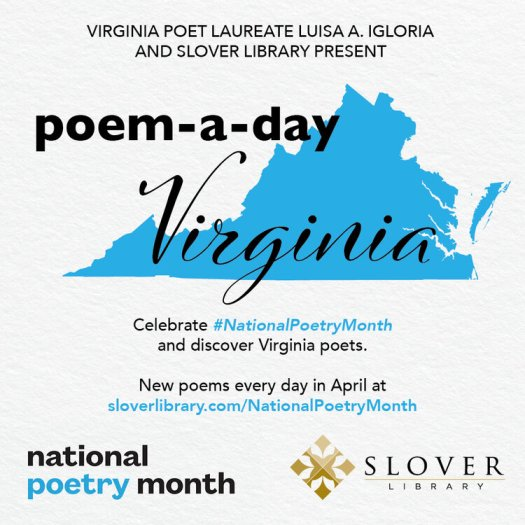 poem-a-day Virginia banner