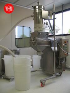 Granulatore oscillante polveri granuli e compresse