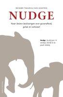 Het boek Nudge van Richard Thaler beschrijft de werking van nudging in het kader van gedragsbeinvloeding en verandering