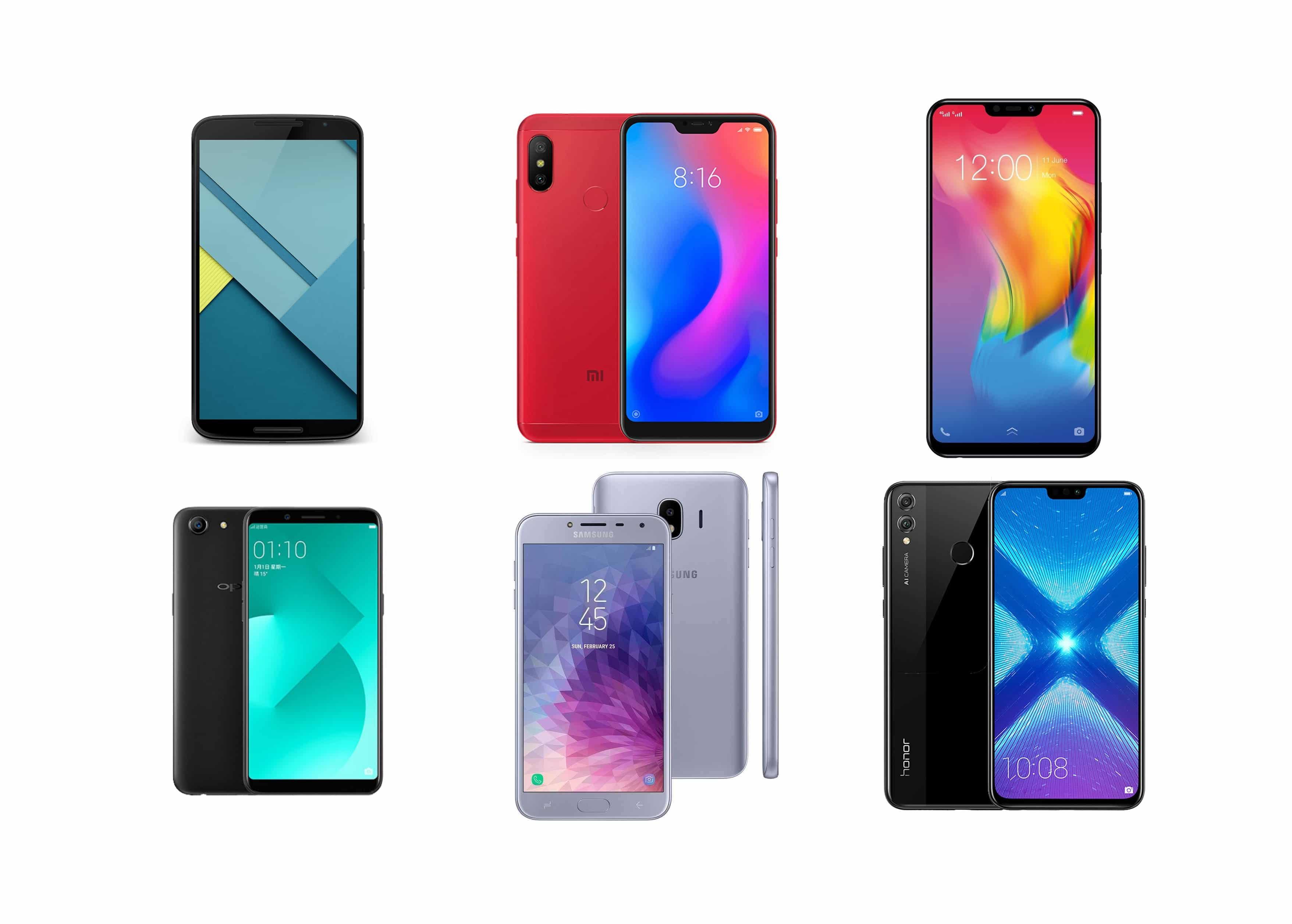 6 Smartphone Android Murah Terbaik 2018