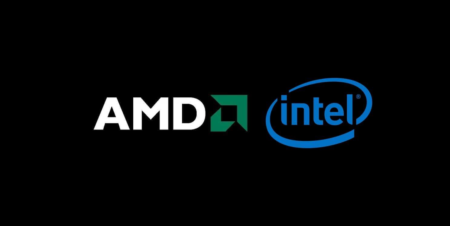 Logo AMD dan intel