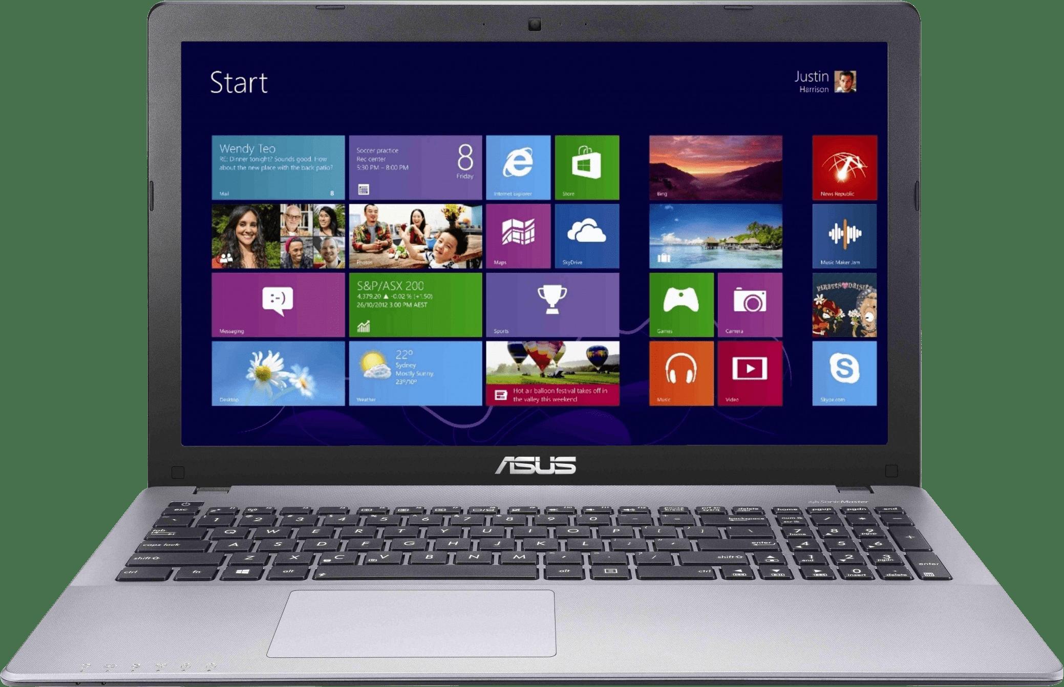 Laptop Asus Dengan OS Windows 8.1