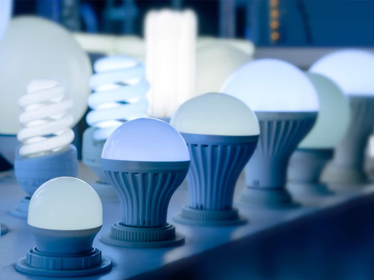 Contoh Lampu LED Menyala