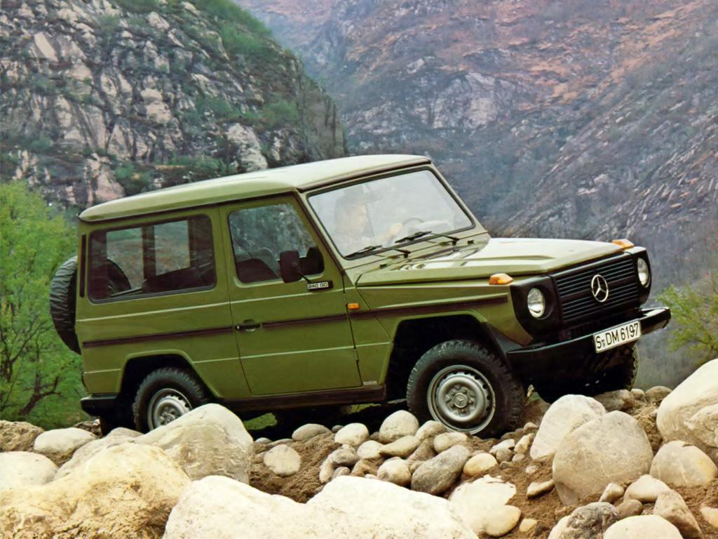 Mandens G-punkt: Mercedes Geländewagen | ViaRETRO