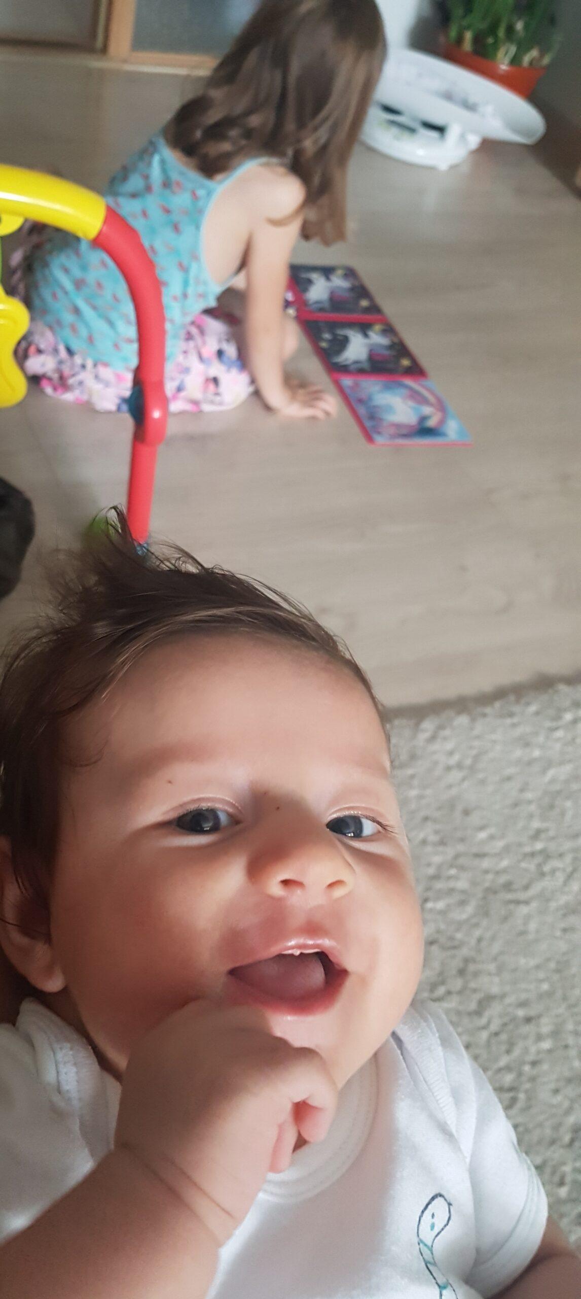 3 luni cu bebe