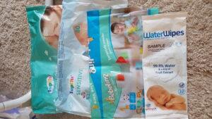 servetele bebelino folosite de bebe