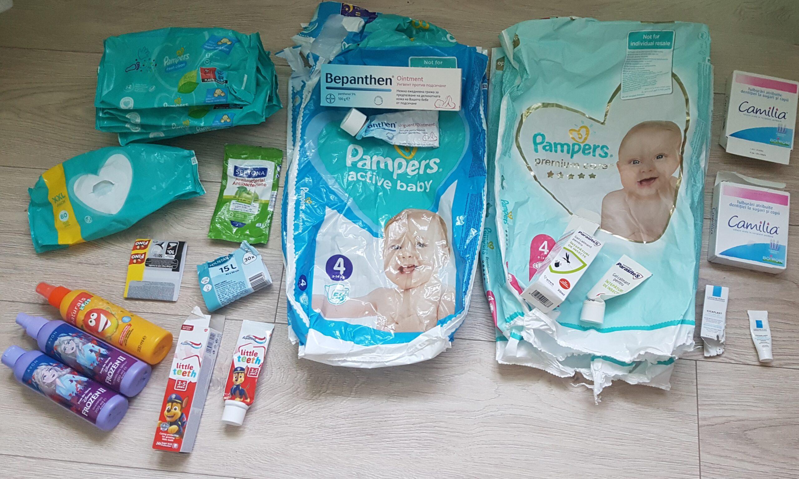 Produse consumate de bebe în luna august