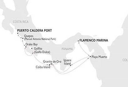 Crucero Variety Cruises - Costa Rica y Panamá