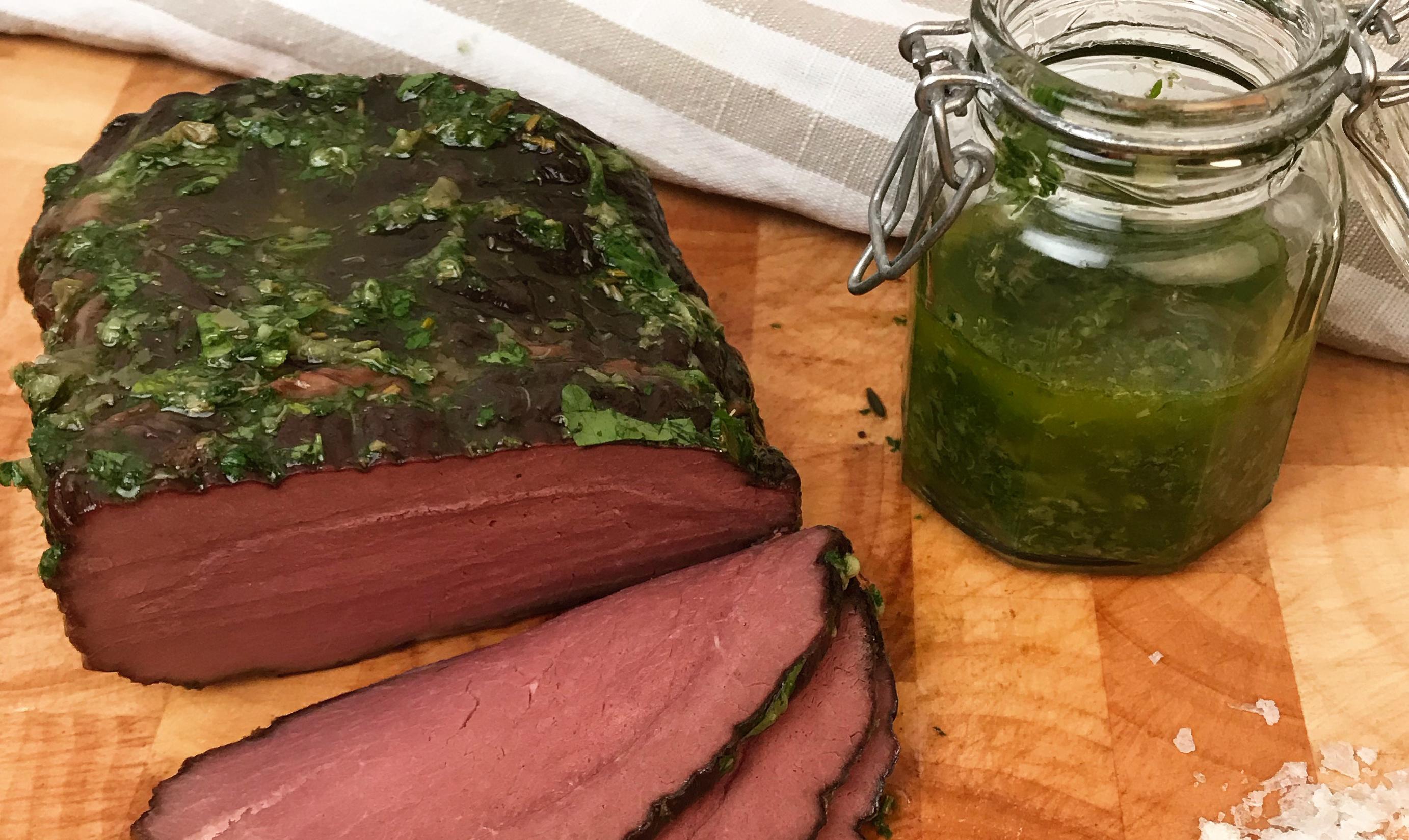 Tjälknöl med Salsa Verde till söndagsmiddag? (AIP/Paleo)