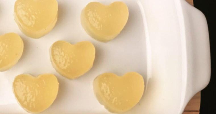 Nyttiga ingefäragummies, gelégummies, för att mota bort förkylningen! (Paleo/AIP)