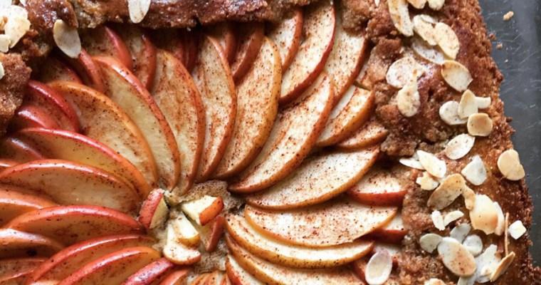 Äpplegalette med mandelkräm, en vacker dessert (Paleo)