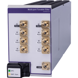 MAP 200 Multiport Tunable Filter Module   VIAVI Solutions Inc  The Multiple Application Platform  MAP 200  multiport tunable filter module   mTFX C1  dramatically simplifies test signal management for  next generation 100