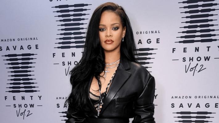 Rihanna At Savage Fenty Show