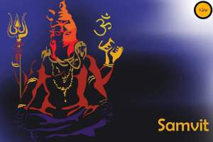 Shiv Ji image designed by Vibe Indian