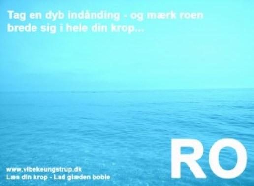 Hold fast i roen - forlæng sommeren   Ro Clairvoyant & NLP Terapeut Vibeke Ungstrup Hillerød og Helsinge