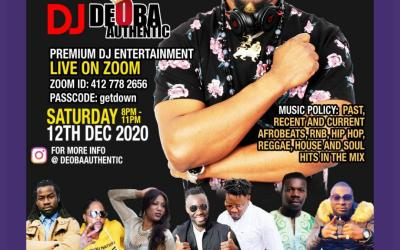 THE VIRTUAL PARTY WITH DJ DEOBA AUTHENTIC