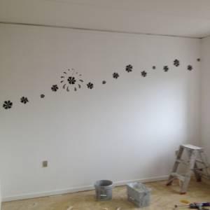 Maling og væg dekoration